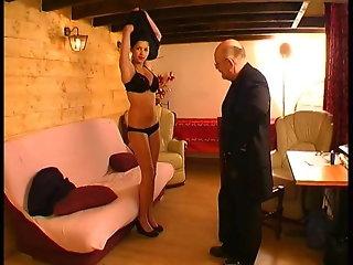 Big Tits French Girl Fucked By Old Man