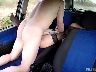 Young Hooker fucked in car for money