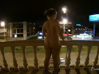 Compilation of three Nude Dares in Hotels