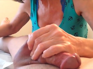 Male waxed by MILF (part 2)