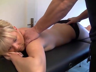 Massage und Analfick