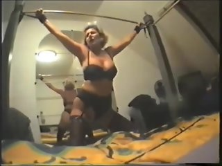Masturbating Milf Slave Whipped And Fucked