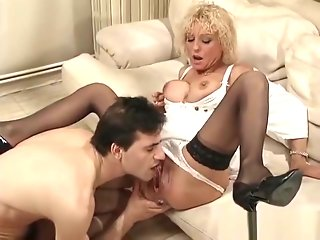 Colette fisted and pissing