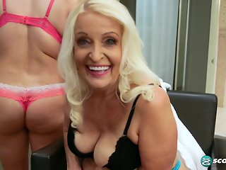 Vikki Vaughn is a mom, and Veronica is her daughter! - 60PlusMilfs
