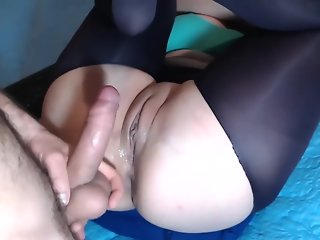 Wife loves hard bareback anal