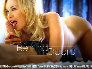 Behind the Door - Lindsey Olsen & Kristof Cale - SexArt